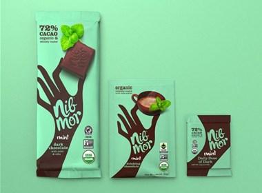 黑巧克力包装设计|美御分享
