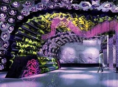 充满艺术气息的娱乐空间设计