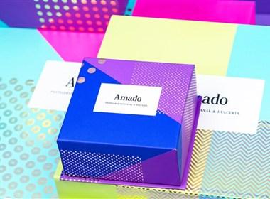 Amado面包店品牌形象打造