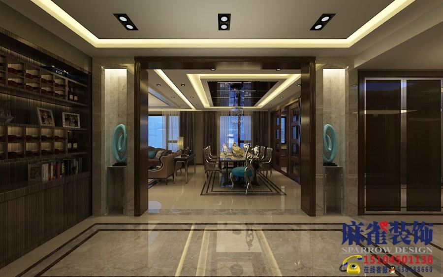 辰能溪树庭院三期-140米-港式新古典风格