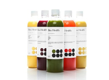 BLISS HEALTH饮料包装设计|美御分享
