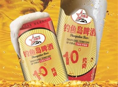 黄鹤楼啤酒海报