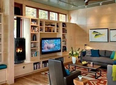 电视背景墙的装饰设计