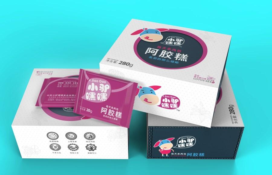 阿胶糕包装设计
