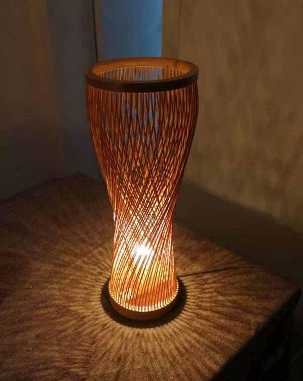 与众不同的竹灯设计