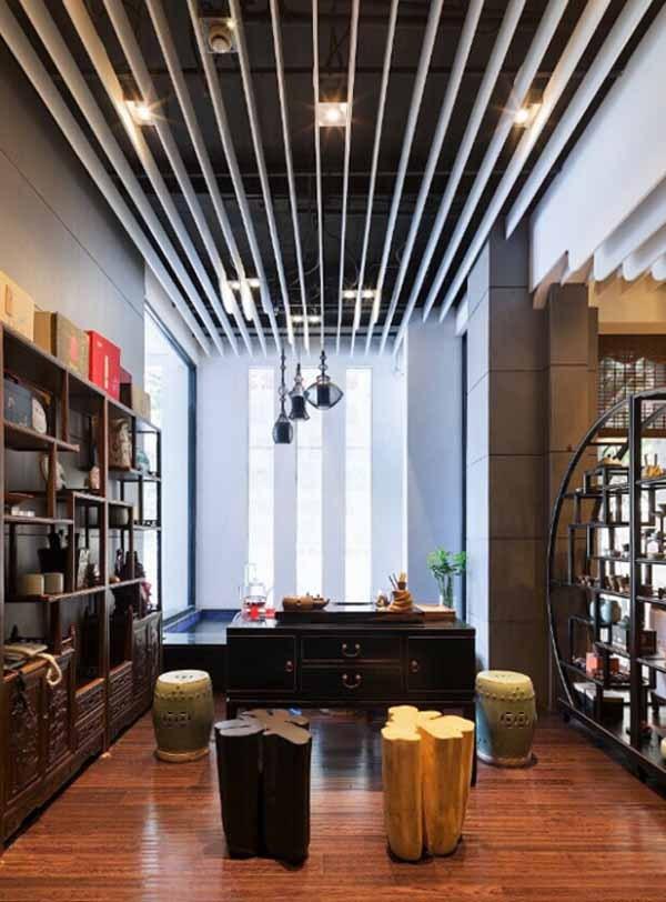 颇具江南特色的茶楼设计欣赏