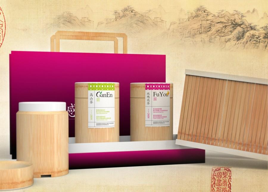 玫瑰花茶&高山茶包装设计