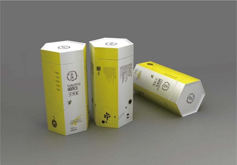 蜂蜜包装设计 曦芝品牌设计