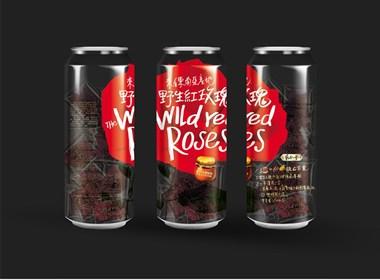 野生紅玫瑰