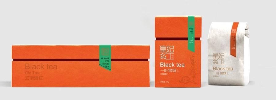 皇妃红红茶包装