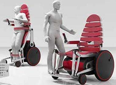 产品设计—巧妙的电动轮椅