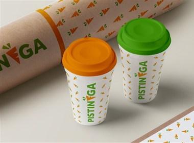 果汁吧Pistinega全新品牌形象