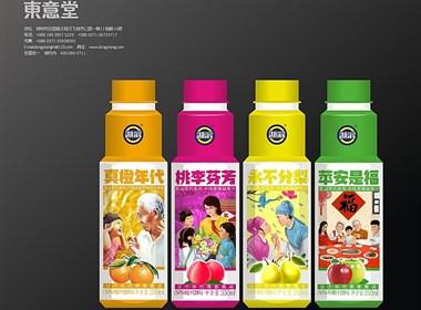 东意堂设计出品:湖滨果汁之真橙年代