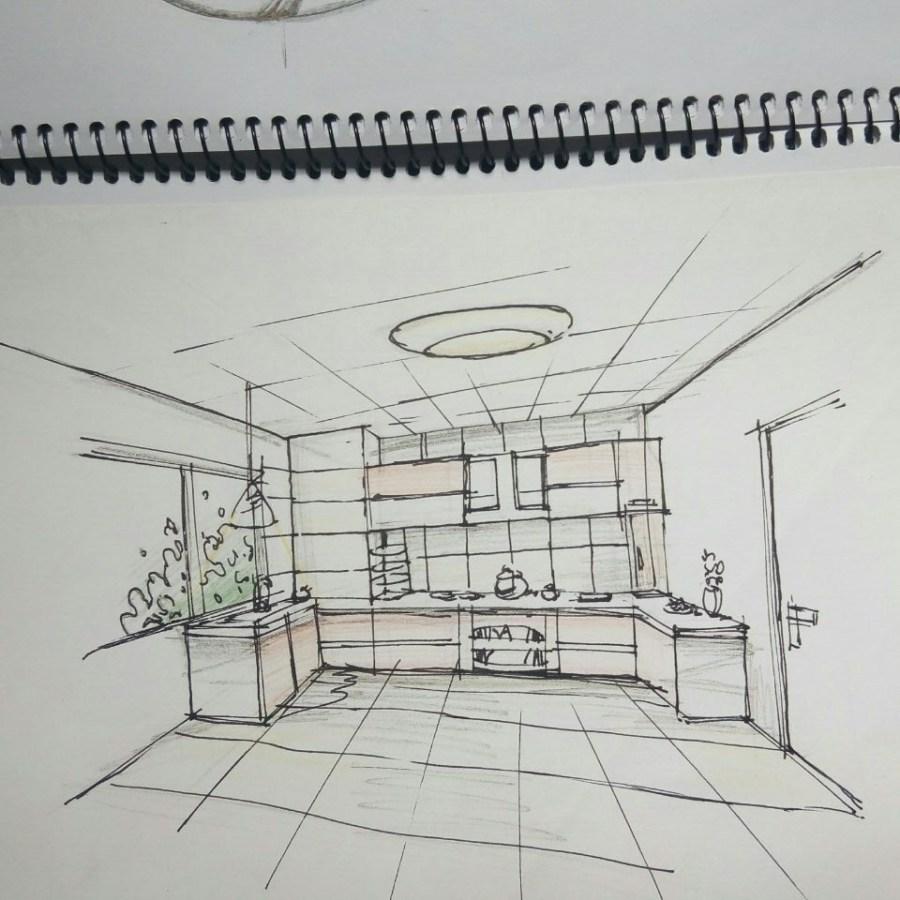 室内设计手绘练习