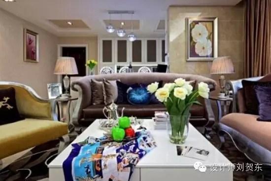时尚家居装修 160平新古典通透4室