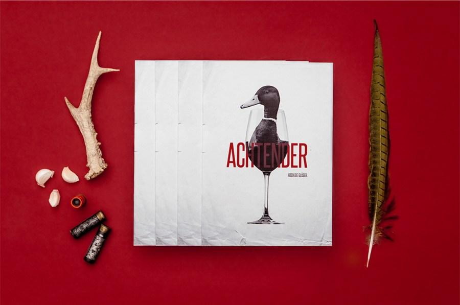 Achtender餐厅品牌形象定位