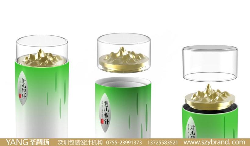绿茶包装设计 深圳食品包装设计公司图片
