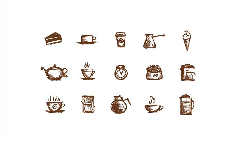 蛋糕店标志设计-甜品店标志设计-食品vi设计-专卖店vis设计-郑州vis形