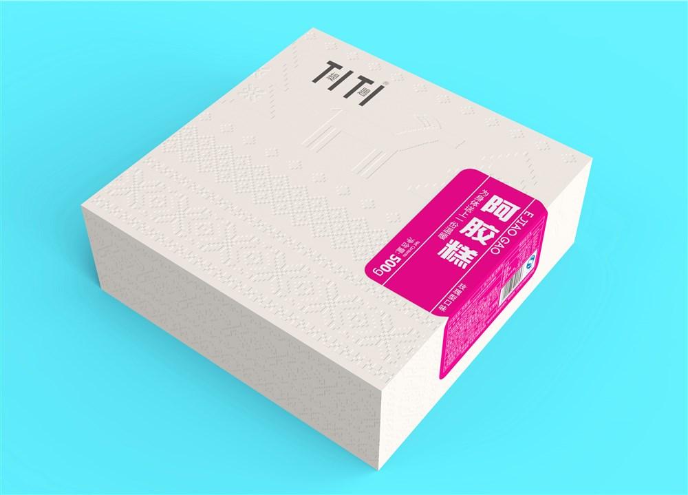 福州阿胶糕包装设计