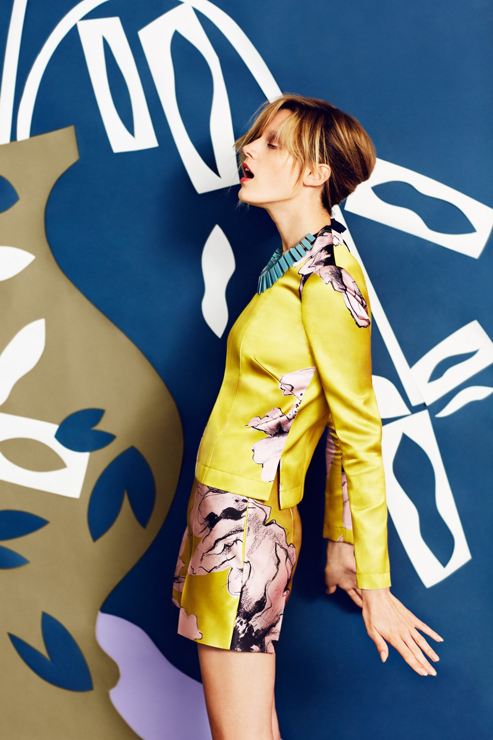 Blooming Bold for WWD
