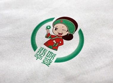 翡翠媒婆 卡通logo 郑超品牌设计
