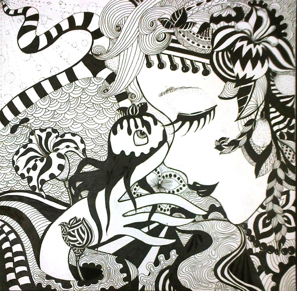 创意手绘插画
