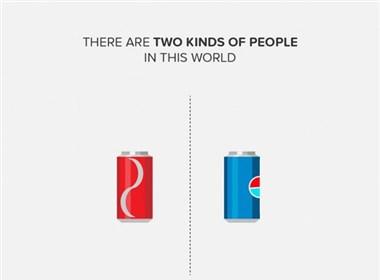 Zomato平面广告--这世界有两种人