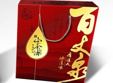 百丈泉茶油-包装设计/茶油包装设计/副食品包装设计 -狼王文化
