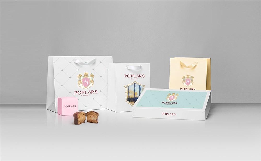 白杨巧克力品牌设计