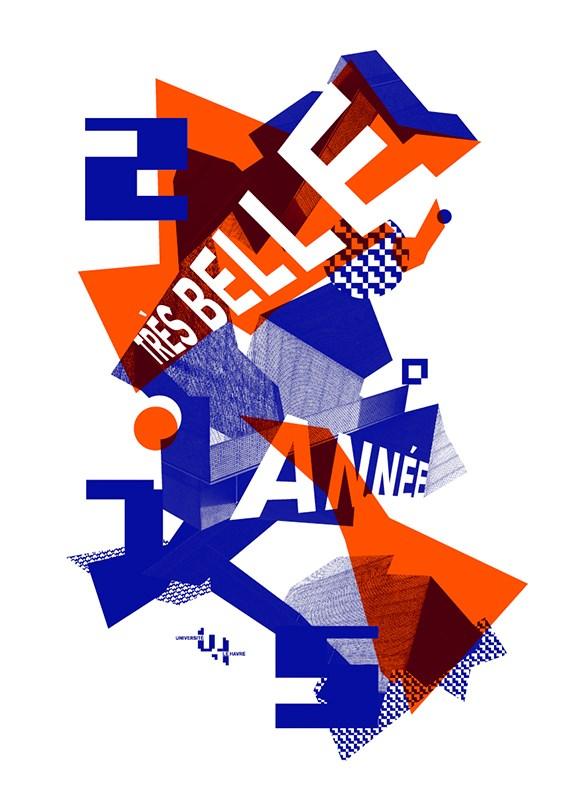 勒阿弗尔大学宣传海报