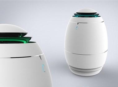 小蛋空气清新净化器