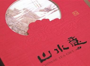 山水意茶叶礼盒包装设计