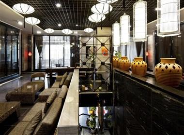 陕西-渭南周和茗茶中式混搭风格茶秀特色餐厅权威设计