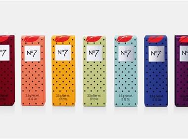 NO7化妆品包装设计