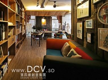 王咏作品-西安软装陈设设计公司DCV第四维创意集团办公室赏析