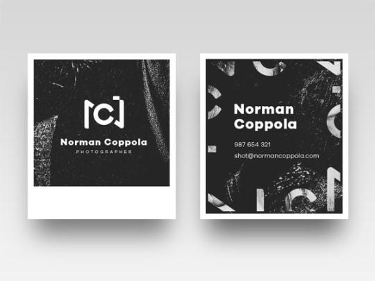 45例酷和创意的名片设计灵感