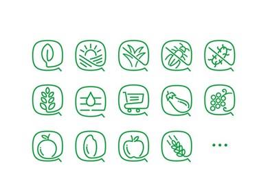 田田圈,让种植更轻松--国内最具影响力的农业O2O品牌形象设计