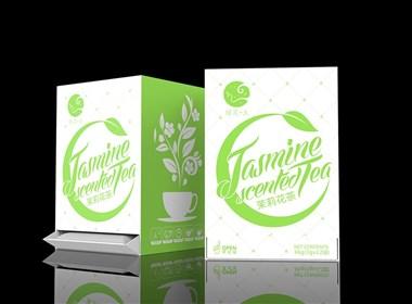 绿花生茶包装设计