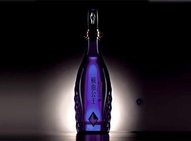 鲅鱼公主酒—别具一格的酒包装设计