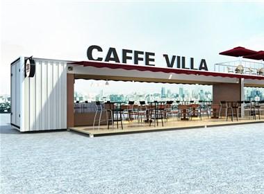 可移动的箱子客咖啡馆设计-朱本辰