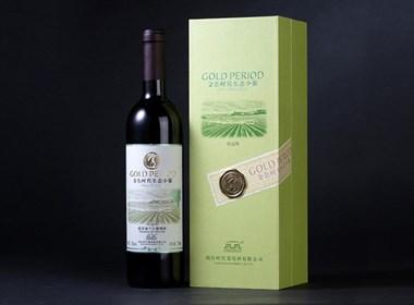 """金色时代小葡萄酒""""生态""""概念包装设计"""