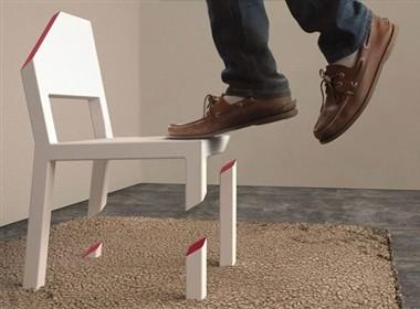 很创意也很闹心的椅子设计