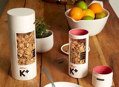 分享一组麦片包装设计