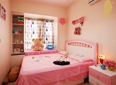 12w搞定现代简约小三房,粉嫩公主房亮了