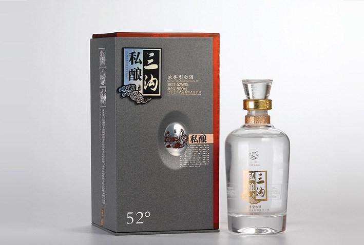 辽宁三沟酒品牌策略包装设计