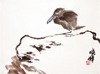 国画小品 花鸟