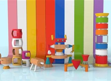 儿童空间家具设计