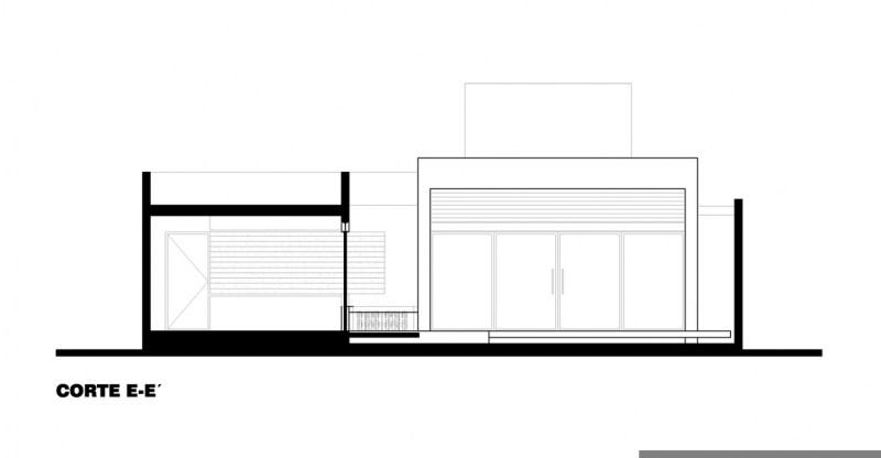 墨西哥T02别墅立面图-墨西哥T02别墅