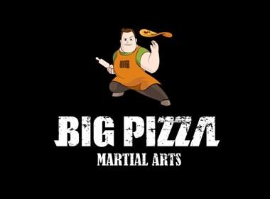 """智远国际为pigpizza比格比萨全新设计的品牌形象""""功夫小子"""""""