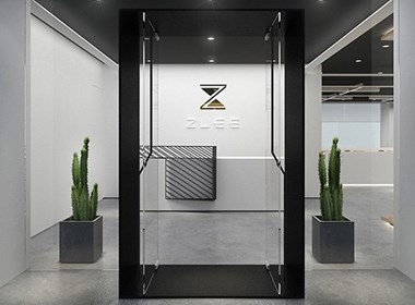 Square space – ZUEE Office,方块空间--ZUEE办公室设计/杜贝品牌设计